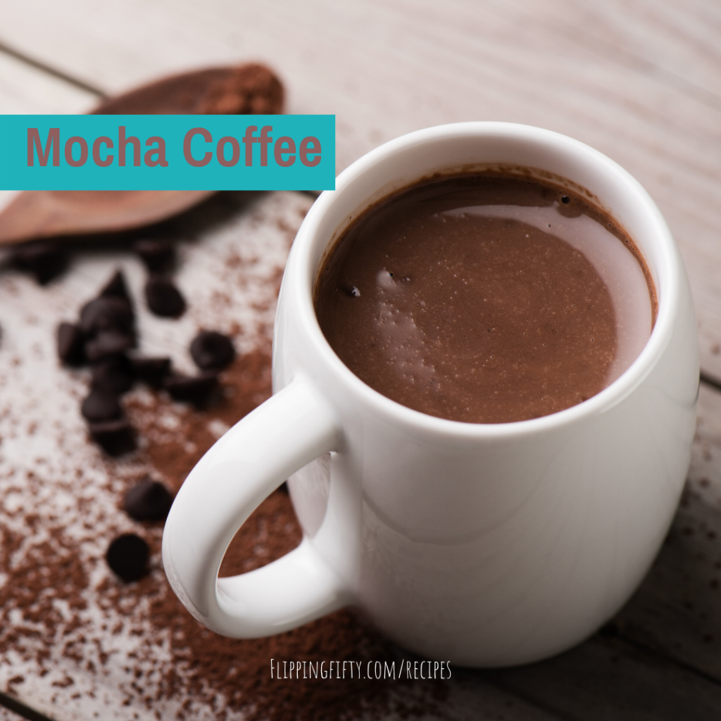 Mocha Coffee Drink from Flipping 50 | Muscle Benefits in a Mug