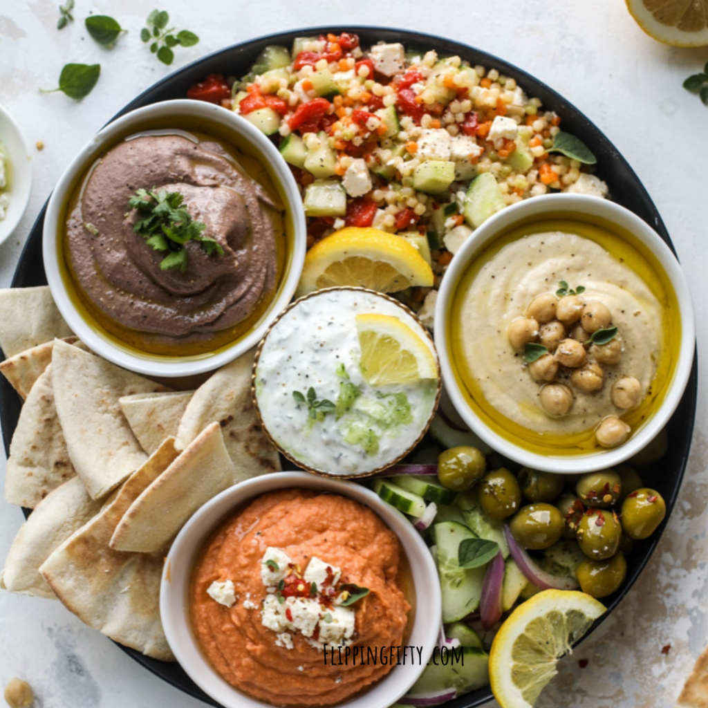 Hummus 4 Ways | The Healthy, Easy, Party Pleaser