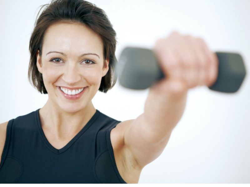 avoid muscle loss after menopause