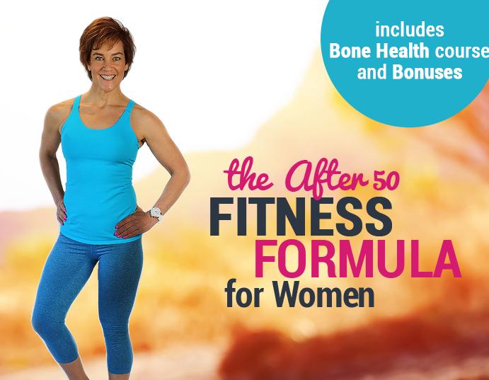 The fitness formula for women over 50