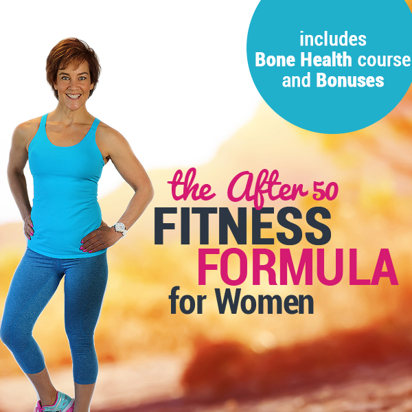 The after fifty fitness formula square