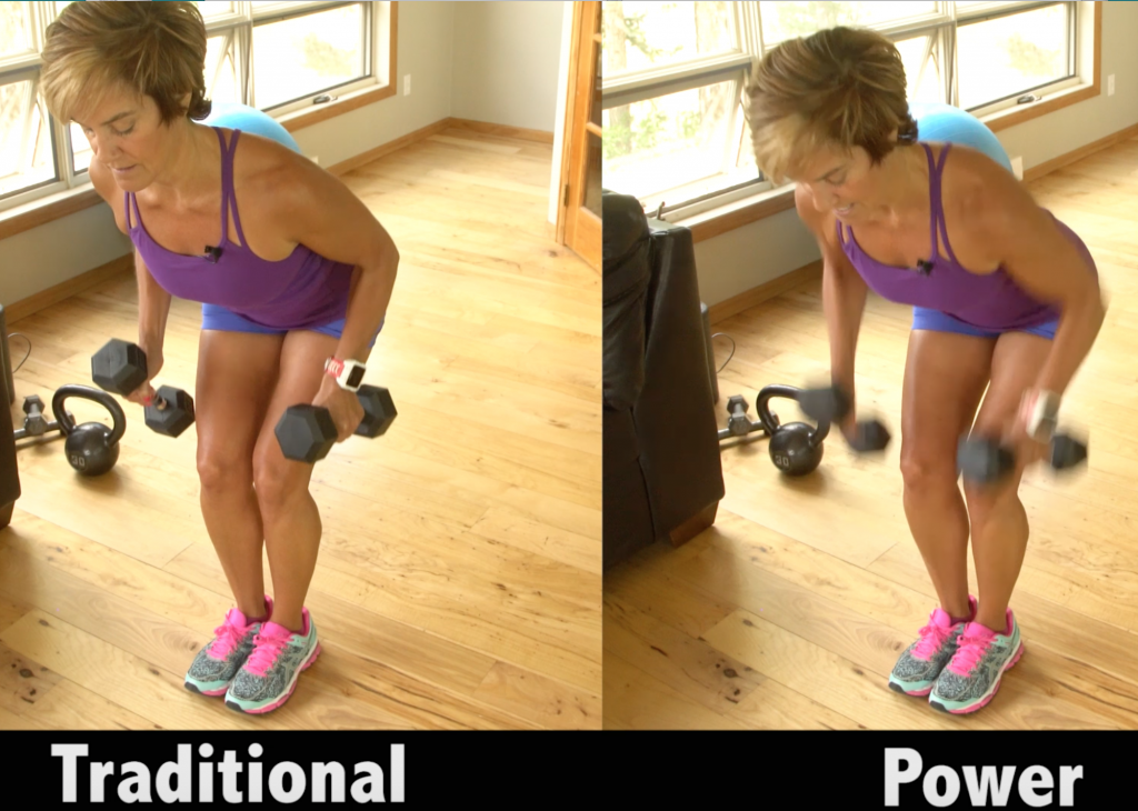 weight training postures