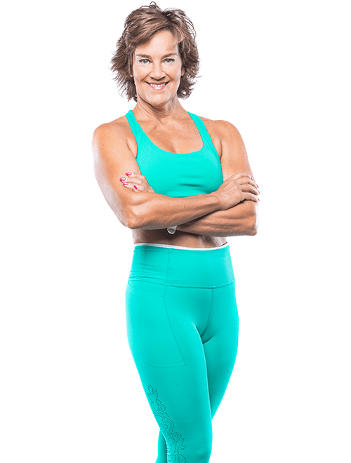 Debra Atkinson - Hormone balance for women over 50 - teal tank arms crossed again