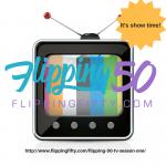 Flipping50TV screen launch