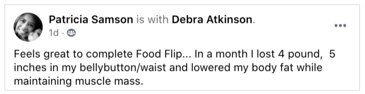 best foods for women over 50 - another testimonial