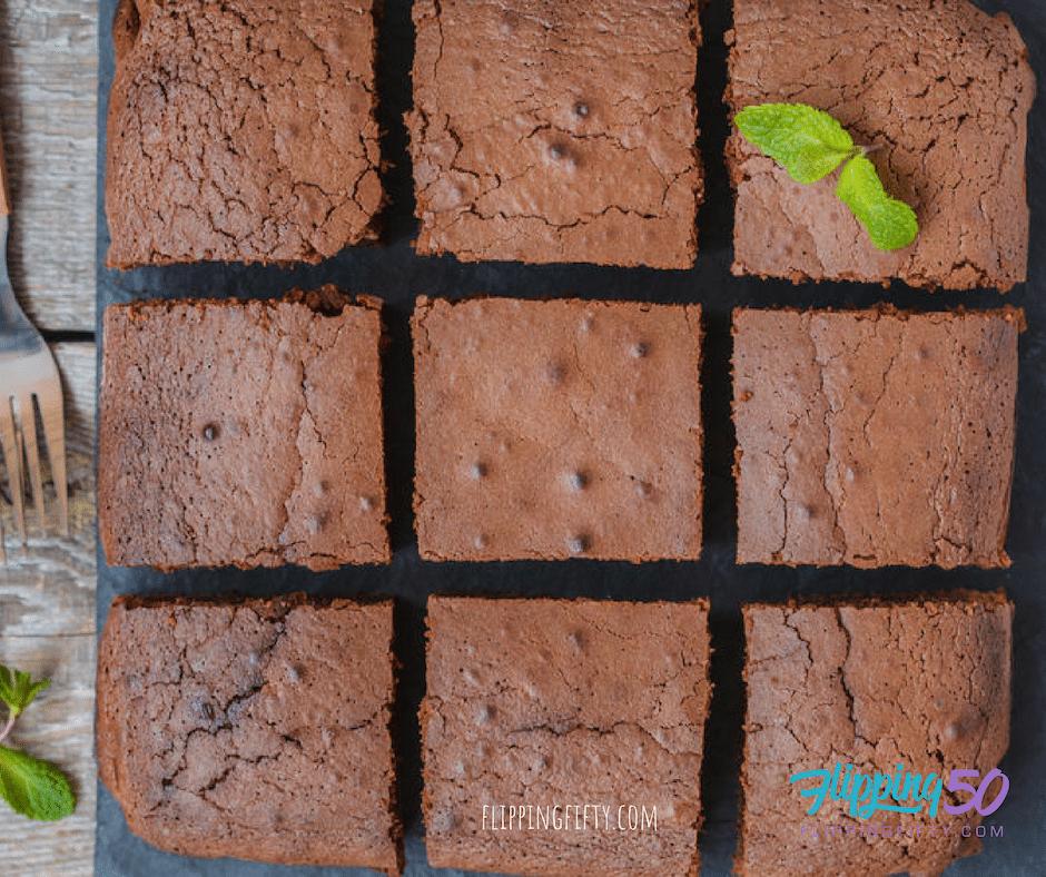 healthy brownie bars
