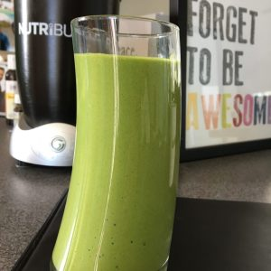 eat for energy green smoothie