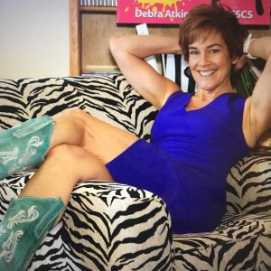 midlife woman relaxing