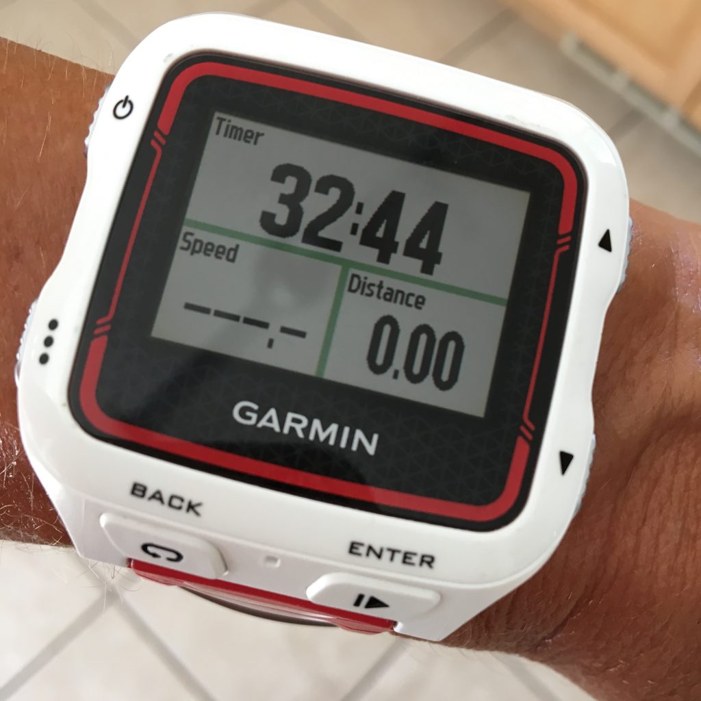 Garmin workout watch for long workouts