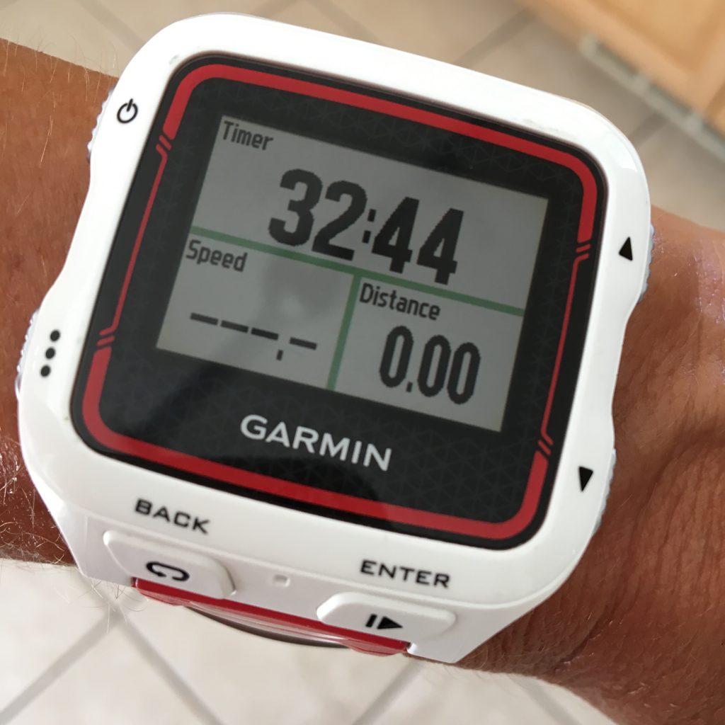 Garmin workout watch for long workouts