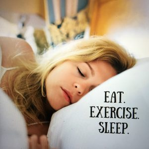 eat healthy sleep healthy
