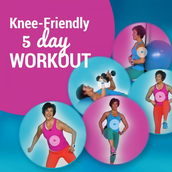 knee friendly 5 day workout