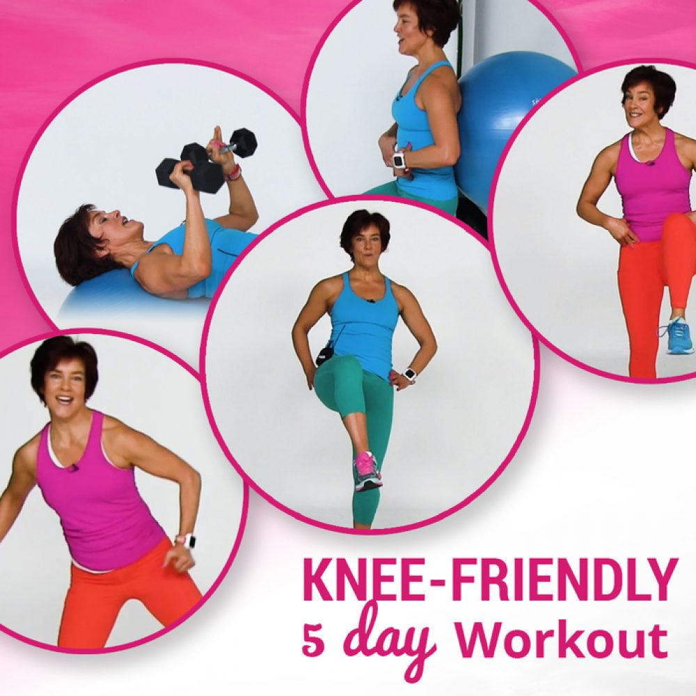 good for your knees: 5 workout videos