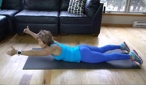 upper back and neck exercise