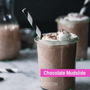 chocolate mudslide smoothie