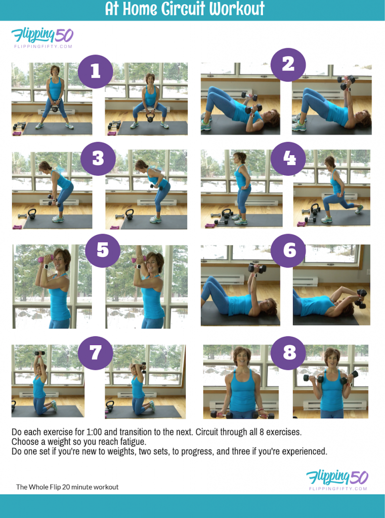 stronger as you age women's exercise routine