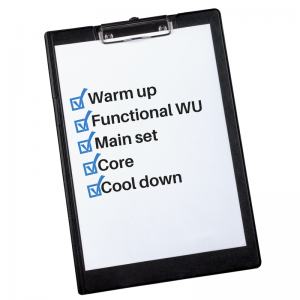 warm-upfunctional-warm-upmain-setcorecool-down