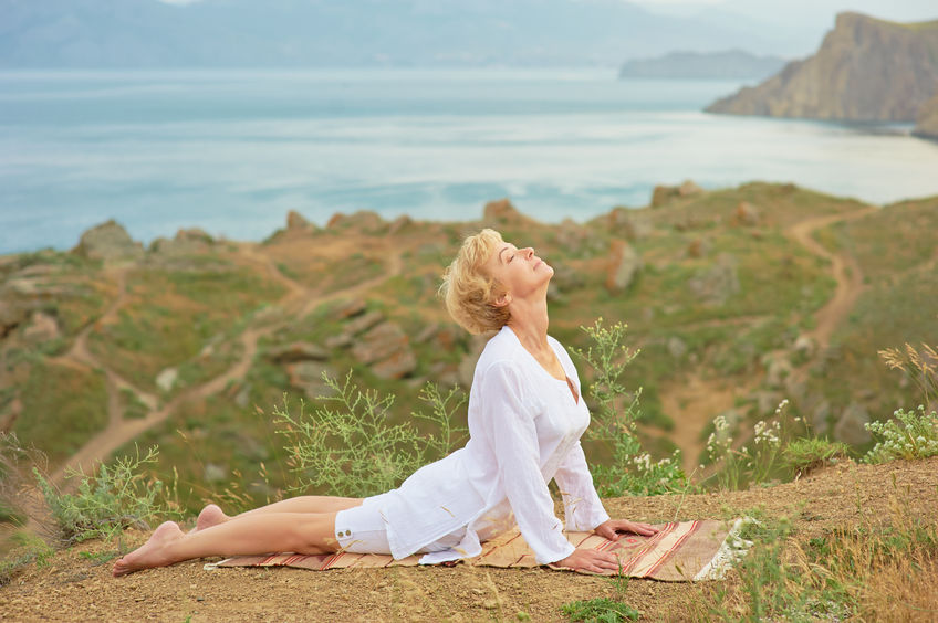 faster fitness after 50 with yoga